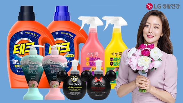 LG생활건강♥BEST상품 테크/홈스타/아우라/엘라스틴 모음전