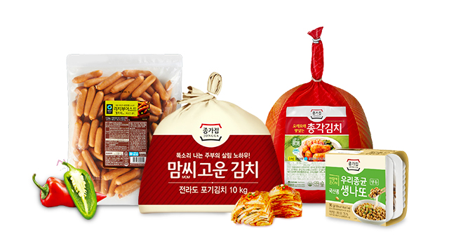 [24타임딜] 대상 종가집 김치/청정원 파스타소스외 1DAY 혜택