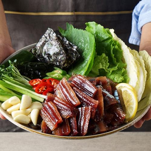 해풍에 꾸덕꾸덕한 과메기,야채세트 골라담기 (반손질,완전손질)