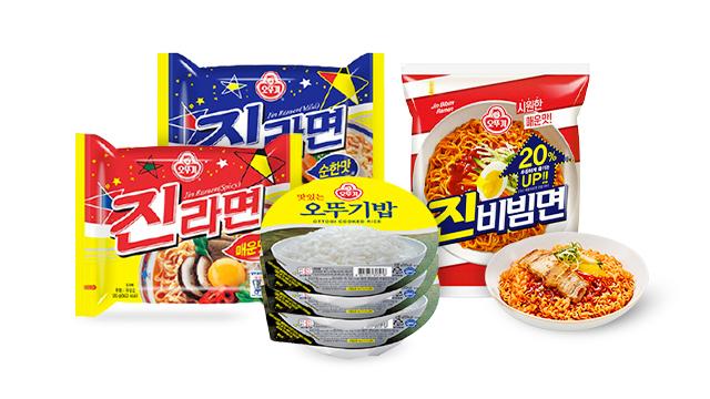 [24타임딜] 오뚜기 즉석밥/진비빔면/라면 1DAY 혜택