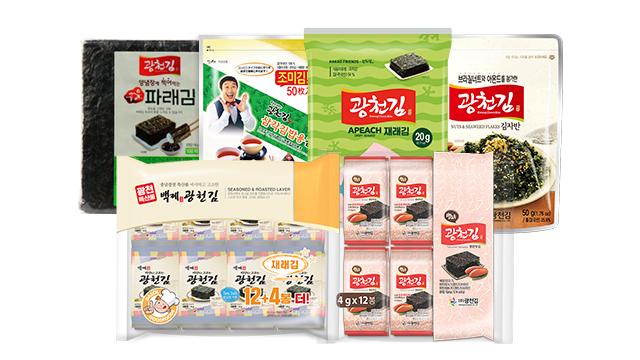 광천김 인기제품 모음전
