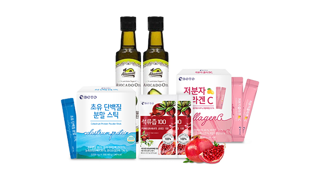 [24타임딜] 보뚜 콜라겐/아보카도오일/단백질외 인기 건강식품 1DAY