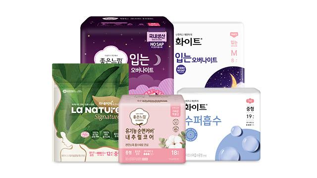 유한킴벌리 크리넥스/좋은느낌/화이트 베스트상품