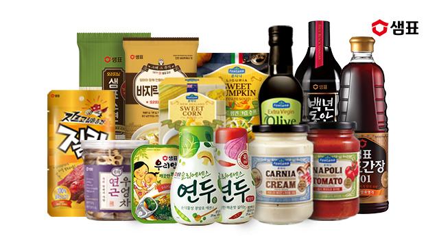 샘표 인기상품 모음전 수프/파스타/조미료