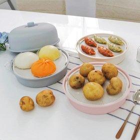 마카롱 전자레인지 호빵 만두 계란찜기 1+1