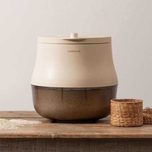 [본사] 락앤락 진공쌀통 10kg 화이트 (EJR771WHT)