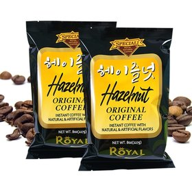 1+1(227g_ 2봉) 로얄 헤이즐넛향 커피고급 원두커피