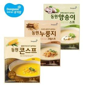 스프 30개 (콘스프,양송이,누룽지크림 선택)