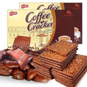 2박스_ 프롬 대용량 커피크래커 커피과자 간식