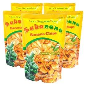필리핀/ 5봉 사바나나 바나나칩 간식 과자