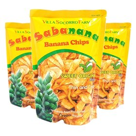 필리핀 직수입 / 3봉 사바나나 바나나칩 간식 과자