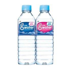 가야 g워터 먹는샘물 500mlx40 생수 물