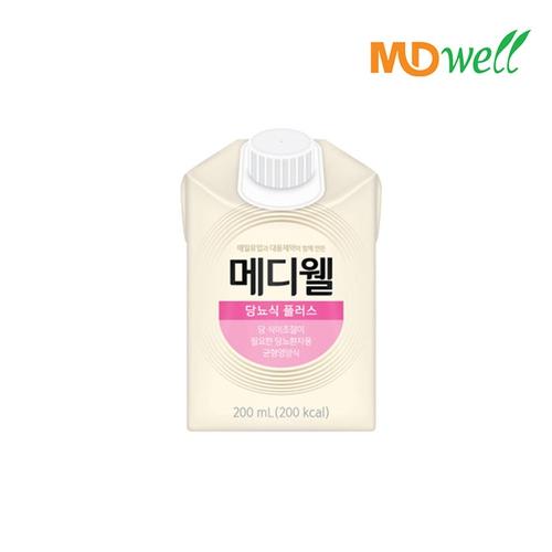 [엠디웰] 메디웰 당뇨식 플러스 200ml 30팩