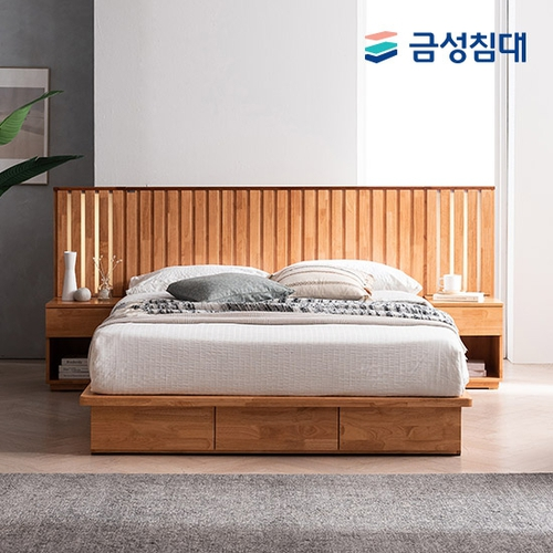 KS 1116 침대 (Q), (K) 겸용