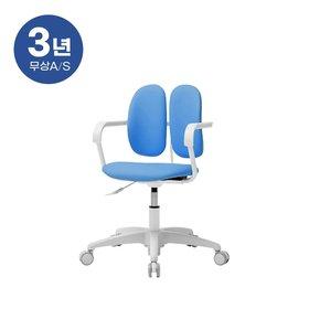 듀오백 밀키 228H 아동의자 무회전중심봉