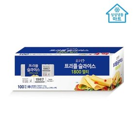 [냉동마트] 소와나무 트리플 슬라이스치즈 1.8kg (100매입)
