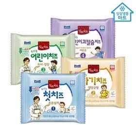 [냉동마트] 상하치즈 아기치즈 10매 x 10개(총 100매)/첫치즈/어린이치즈