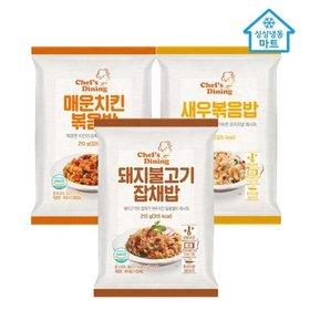 [냉동마트] 천일 새우볶음밥 12봉/불고기/매운치킨