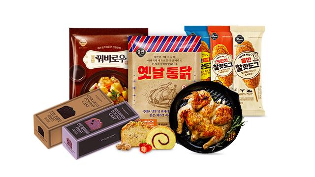 [24타임딜] 신세계푸드 올반 옛날통닭/핫도그외 간편식 특집
