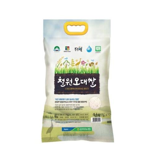 [새벽배송][우리가락]철원오대쌀 4kg