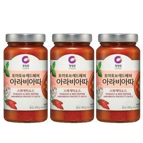 청정원 아라비아따 스파게티소스 600gx3개
