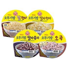 [오뚜기]오뚜기밥 발아현미 210g x 12개입/발아흑미/오곡/찰현미