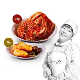 ◆김수미 포기김치 7kg + 총각김치2kg