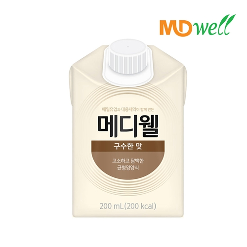 [엠디웰] 메디웰 구수한맛 200ml 30팩