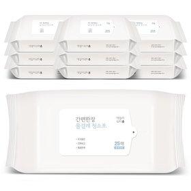 데일리워터 더 착해진 물걸레청소포 특대형 리필 10팩(250매)