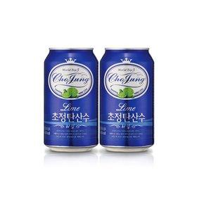 초정탄산수 라임 355ml 24캔