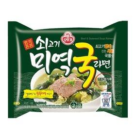 [오뚜기] 쇠고기 미역국 라면 8봉
