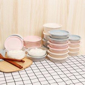 심플쿡냉동밥전자렌지용기(400ml) 8개