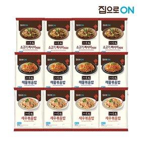 집으로ON 팔선생 볶음밥 해물X4개 + 새우X4개 + 소고기짜사이X4개