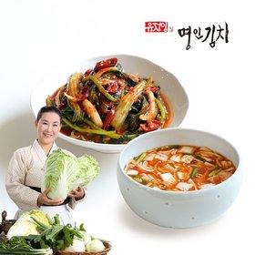 열무얼갈이 2kg+나박김치 1kg