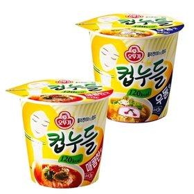 [오뚜기] 컵누들 6입 x 2개/매콤한맛/우동맛