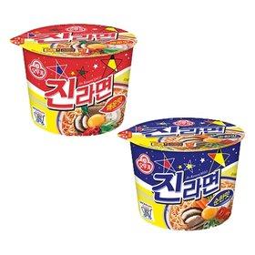 [오뚜기] 진라면 용기 12개입/매운맛/순한맛